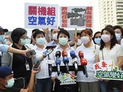 支持環團反空汙抗暖化遊行 盧秀燕三大訴求力挺