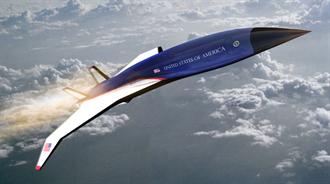 美研製5馬赫高超音速空軍1號總統專機 從紐約飛巴黎90分鐘