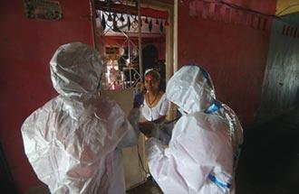 印度染疫人數 突破200萬