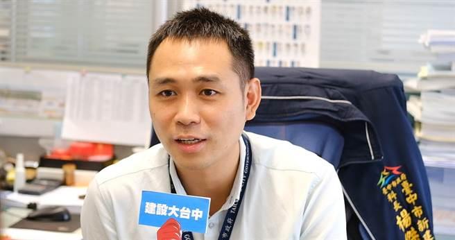 模範公務員新建工程處土木工程科長楊傑漢說「工作來了還是要處理」。(台中市政府提供/陳世宗台中傳真)