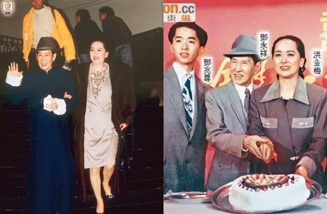 洪金梅與鄧永祥的家事過去是外界熱議話題。(圖/取自《on.cc東網》)