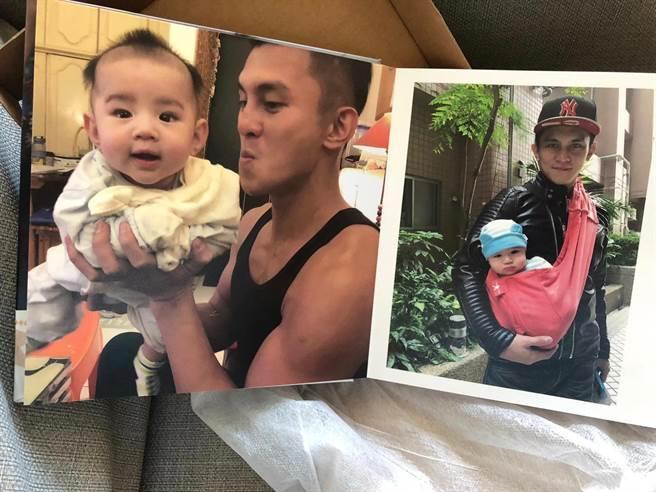 羅美玲曝光她製作老公與兒子的相簿當父親節禮物(夢蓮花文藝基金會提供)