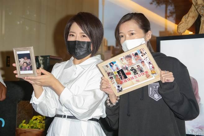 于美人、Makiyo昨日在羅霈穎靈堂外受訪,透露羅霈穎生前慶生計畫。(本報系資料照)
