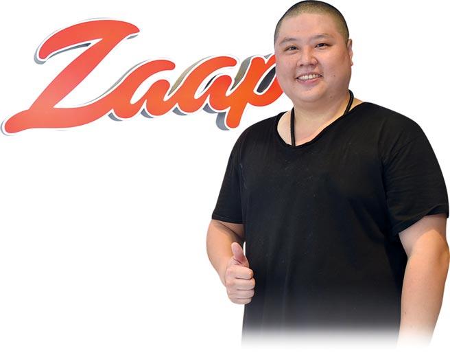 台北新開泰菜私廚〈Zaap〉的主人兼主廚AJ簡士捷,曾在台北喜來登飯店泰菜餐廳與多家知名泰菜餐廳歷練。圖/姚舜