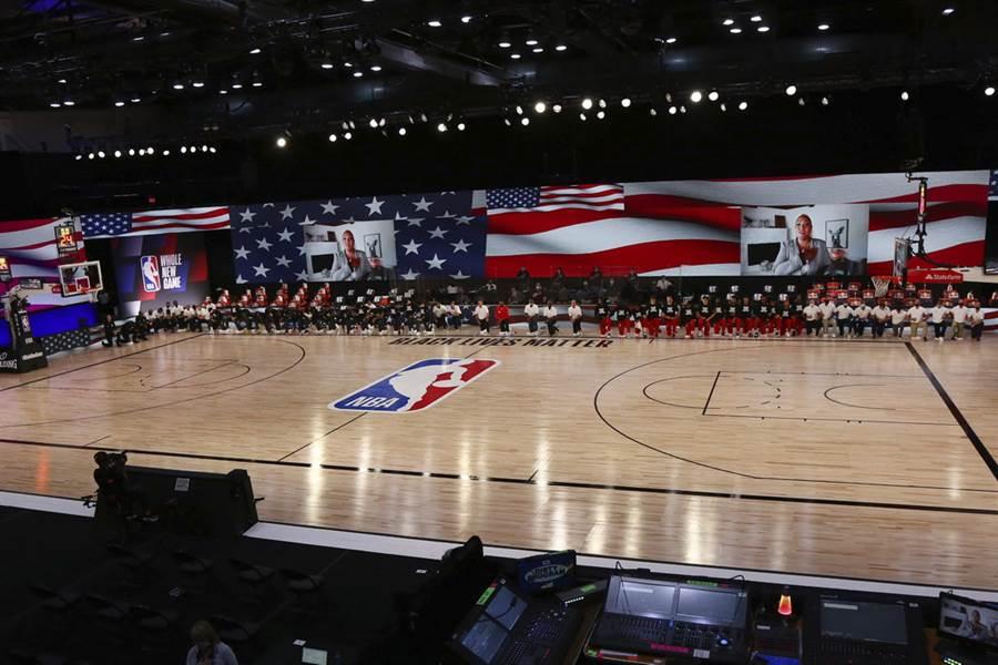 NBA考慮仍把第二賽區設在奧蘭多迪士尼世界。(美聯社)