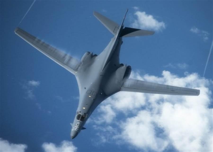 美國空軍B-1B轟炸機。(圖/美國空軍)