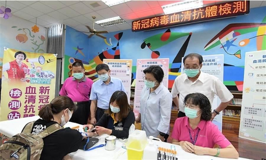 彰化衛生局與台大公衛學院合作進行萬人檢驗,將在本月25日進行「期中報告」 (圖/彰化縣府)