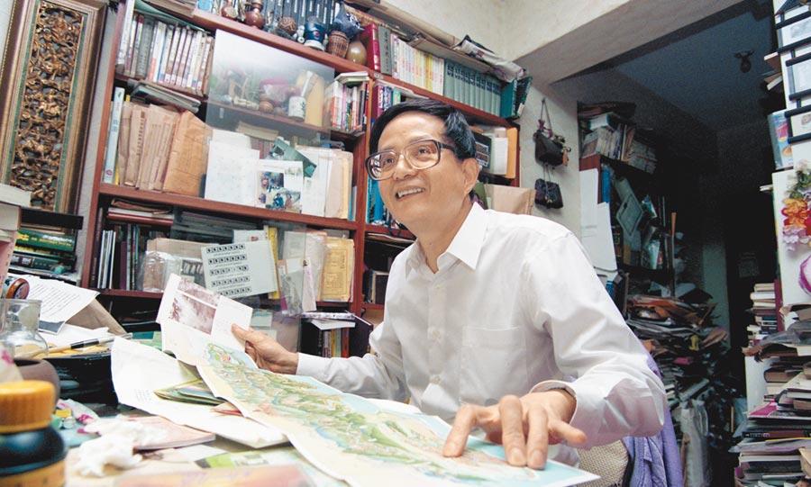 台灣文史專家莊永明。(本報資料照片)
