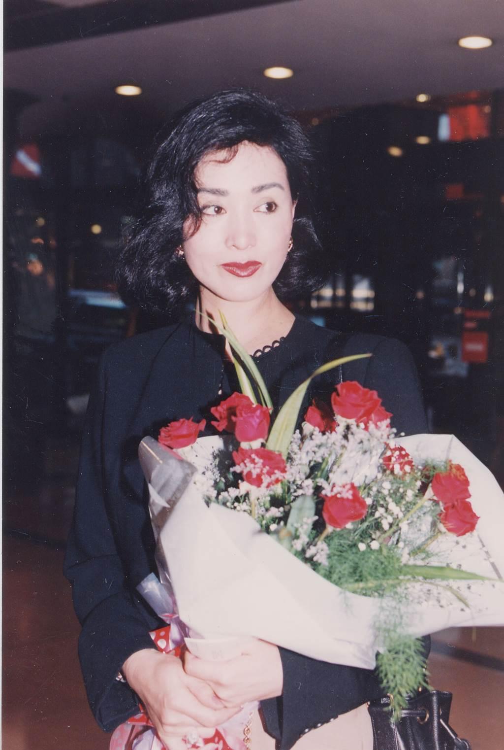 何莉莉外形美艷,當年是邵氏十二金釵之一。(張兆輝攝)