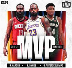 NBA》年度獎項候選名單 字母哥瞄準MVP