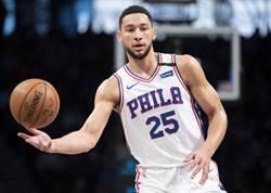 NBA》班西蒙斯動刀賽季報銷 七六人戰力受損