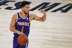 NBA》力保復賽不敗 布克35分領太陽滅火