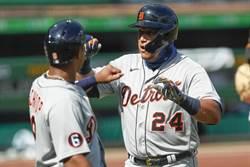 MLB》首局無人出局4轟 老虎隊創隊史紀錄