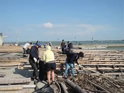 守護海洋「蚵」不容緩 海湧工作室到蚵產業重鎮辦淨灘