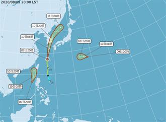 太平洋2準颱逼近台灣!氣象局熱帶低壓特報 明全台嚴防雷雨彈