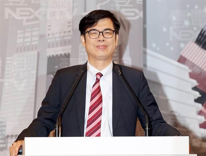 民進黨高雄市長補選候選人陳其邁。(資料照,姚志平攝)