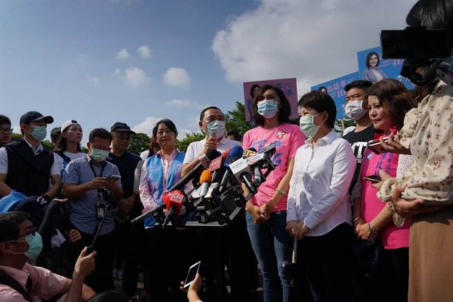 高雄市長補選倒數6天 侯友宜、盧秀燕為李眉蓁站台