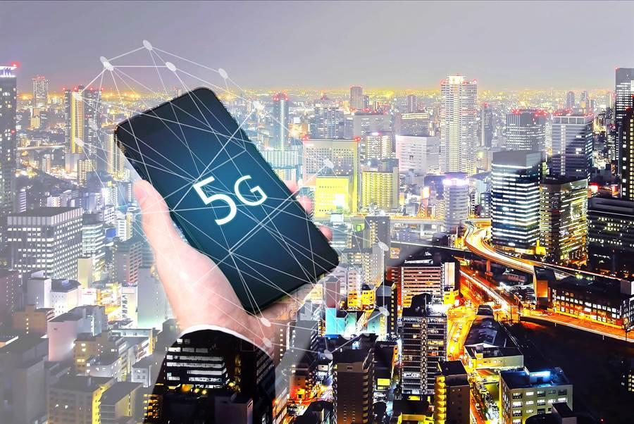 大陸5G基地站數量到年底將佔全球7成。(shutterstock)