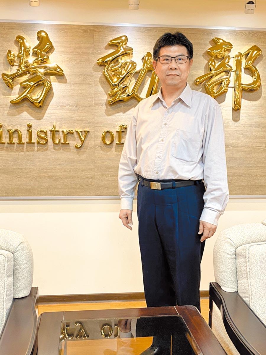 勞動部次長 王尚志