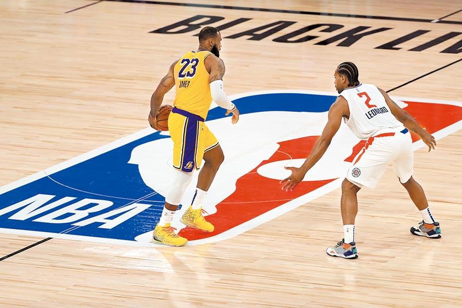 NBA復賽限制一籮筐圖╱美聯社