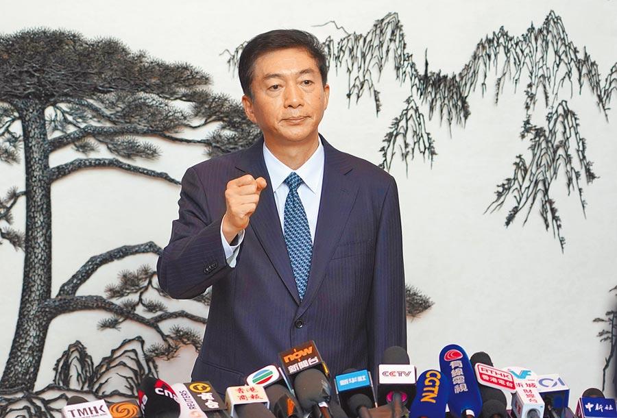 香港中聯辨主任駱惠寧。(中新社)