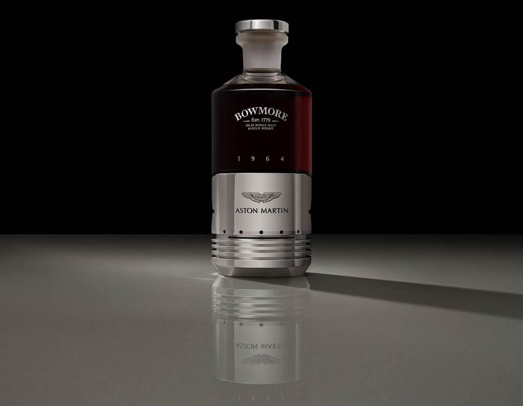 Aston Martin與Bowmore聯名推出單一麥芽蘇格蘭威士忌 以DB5活塞打造瓶身
