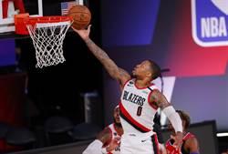 NBA》利拉德轟51分 拓荒者獨占西區第9