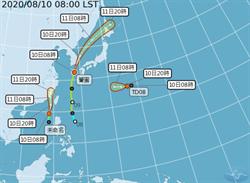 第6號颱風生成 氣象局海陸警齊發
