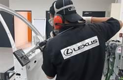 LEXUS導入鋁合金外板維修,提升顧客滿意度