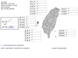 颱風風力持續增強 澎湖有望達災防假標準