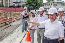 縣長楊文科視察停6地下停車場工程預計明年9月完工