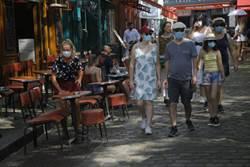 巴黎戶外人氣景點強制戴口罩 宣導期後不聽罰4800
