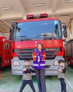 從軍8年轉消防 「救家人很有意義」