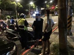 三峽分局警交通大執法 同步實施台七乙線測照