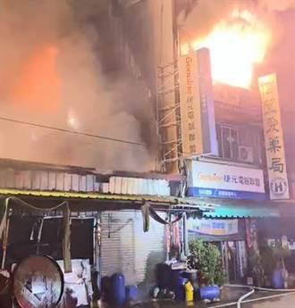 雲林斗南鐵皮屋大火7人送醫 11歲男童不治