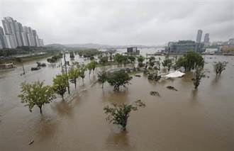 連日暴雨增至31死8傷 熱帶風暴「薔薇」登陸南韓
