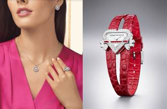 情人節首選「鑽石之王」海瑞溫斯頓 紅寶石時計見證浪漫時刻