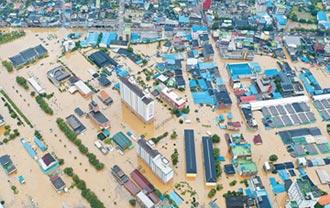 南韓水災38死 又遇颱風登陸