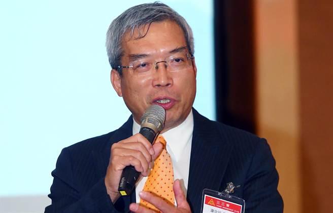 圖為財信傳媒董事長謝金河(見圖)指出,台灣還有2位低調的千億富豪。(資料照片 陳信翰攝)