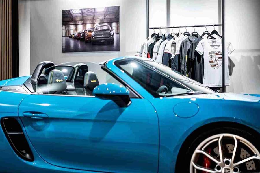 Porsche NOW全新型態概念店進駐桃園新光影城百貨
