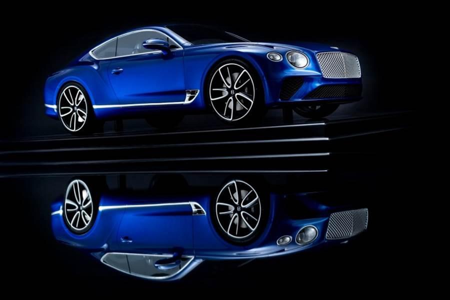 Bentley官方推出Continental GT模型車 可提供客製化服務