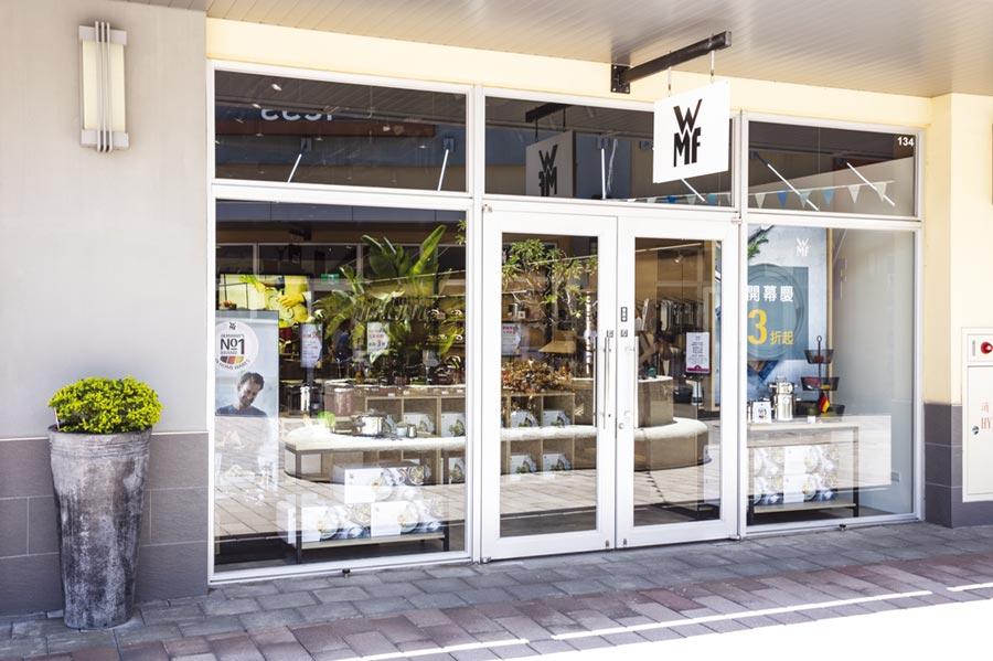 WMF Outlet店近40坪的空間內,完整引飲全系列品項,款式豐富齊全。圖/WMF提供