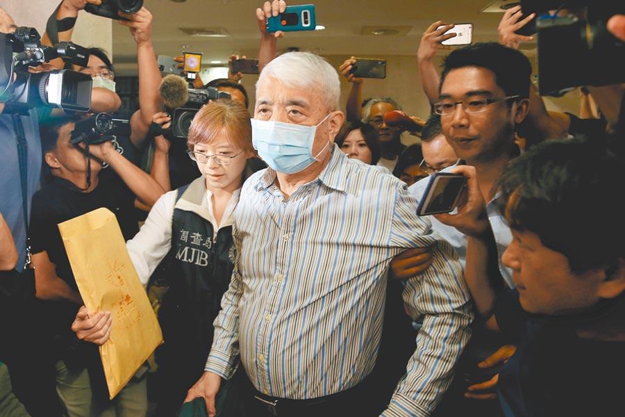 台北地檢署將在今(10)日提訊在押太流負責人李恆隆釐清案情。(本報資料照片)