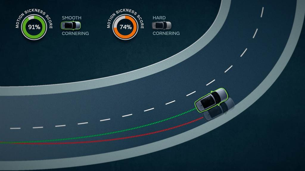Jaguar Land Rover發展可避免暈車的自動駕駛
