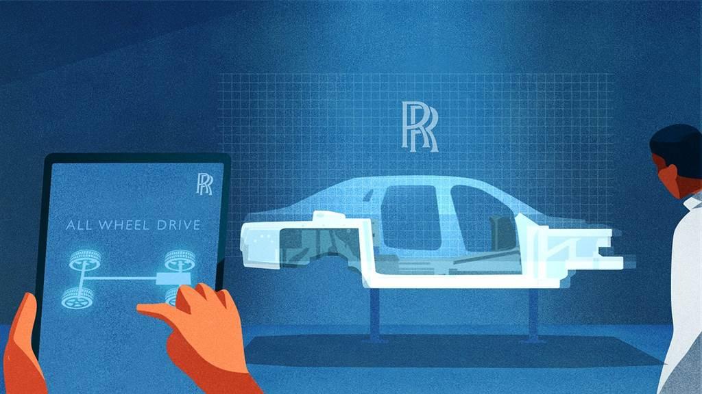 Rolls-Royce以動畫預告新世代Ghost將會有全新底盤設計!並配置全輪驅動與全輪轉向