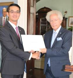駐聖露西亞大使到任 聖國總督承諾續為台灣發聲