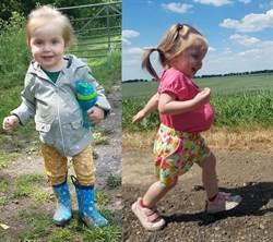 勇敢的小女孩!2歲女童曬凸肚 背後原因曝光感動全網