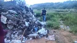 苗栗遭傾倒大量廢棄物 警方加強查緝14人送法辦