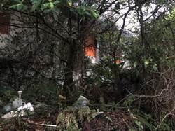 桃園大園空屋火警 起火原因未知