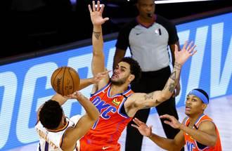 NBA》太陽擊潰雷霆6連勝 布克創隊史紀錄